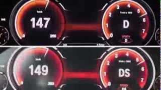 2013 BMW 750i xDrive (F01) 450 HP vs. 2012 BMW 750i (F01) 450 HP 0-100 km/h Acceleration