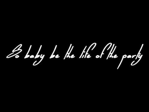 Shawn Mendes Life Of The Party Lyrics Youtube