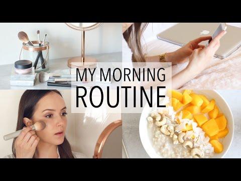 MY MORNING ROUTINE 2017 + HEALTHY BREAKFAST IDEA!