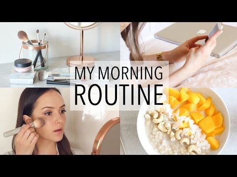 MY MORNING ROUTINE + HEALTHY BREAKFAST IDEA!