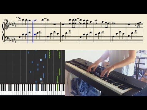 How to play Aviciis Wake Me Up on piano the cool way