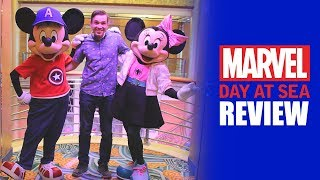 Marvel Day at Sea Review - Disney Cruise Line