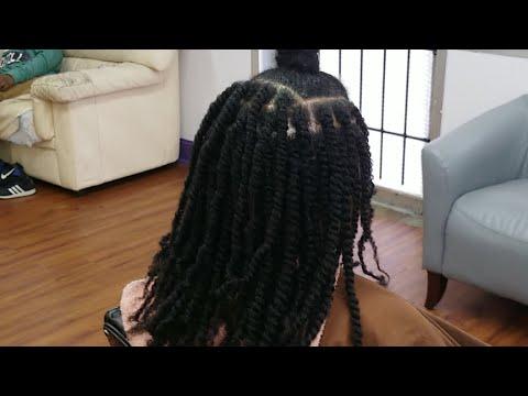 #684 - Quick Two Strand Twists | Salon Work LIVE STREAM