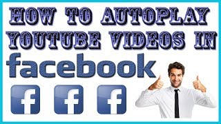 How to autoplay youtube video on facebook [ hindi / urdu ]