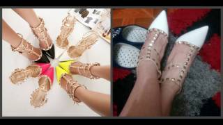 Туфли Алиэкпресс Китай с реальныими фото Мода 2017г !Shoes with Aliexpress China,many with photo