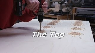 Purple Pocket Hole Workbench - Pt 4 - The Top