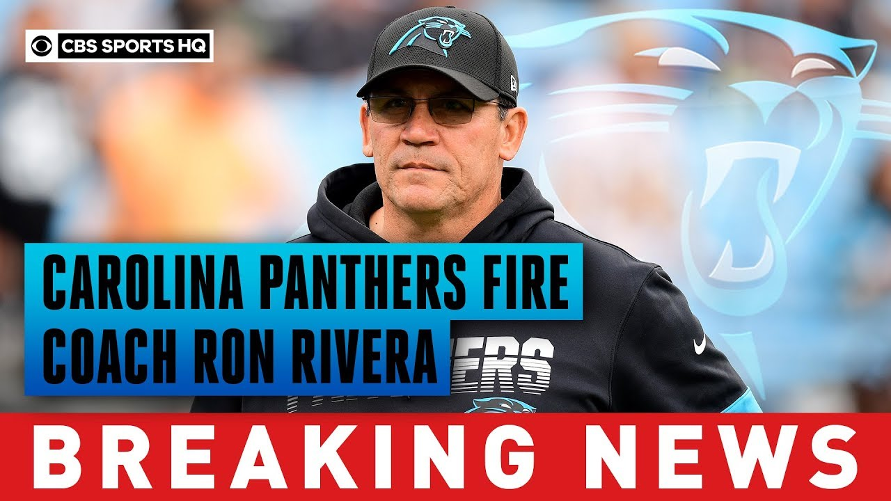 Panthers fire Ron Rivera after eight-plus seasons, Perry Fewell to ...