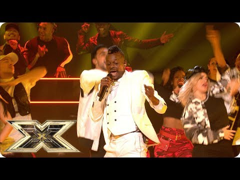 Olatunji Yearwood sings Jiggle It | Live Shows Week 1 | The X Factor UK 2018