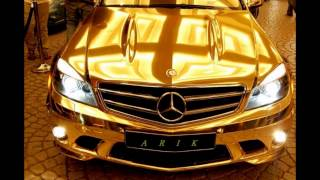 Golden Cars Of Dubai Sheikhs