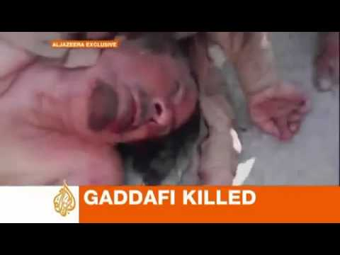 Muammar Muhammad al Gaddafi Dead
