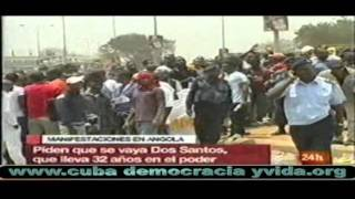 LIBIA: REBELDES AVANZAN/EN ANGOLA PRIMAVERA ÁRABE/EN VENEZUELA COMIENZA LIBERTAD CON LEO LÓPEZ.