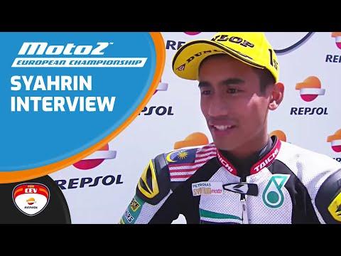 Interview Hafizh Syahrin Winner Race Moto2™ European Championship