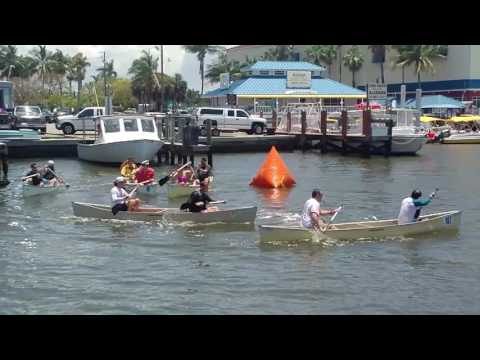 The Canoe Races of Naples Florida