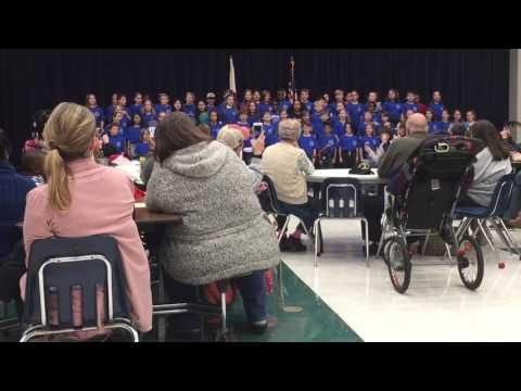 """Oak Mountain Intermediate School 4th graders """"My Song"""""""