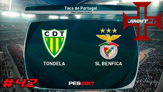 PES 2017 Liga Master #42 Taça de Portugal Tondela vs Benfica