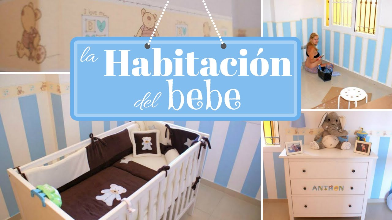 La HABITACIÓN del BEBE / Room TOUR / IDEAS para DECORAR CUARTO del ...
