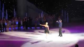 Torvill and Deans last ever bolero Leeds 27/4/2014