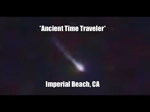 Fireball enters atmosphere during fireworks display over Imperial Beach, CA!