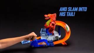 Smyths Toys - Hot Wheels Dragon Blast Play Set