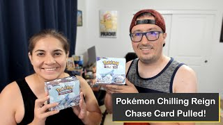 Pokémon Sword & Shield Chilling Reign Booster Box Opening with Epic Pack Battle! Chase Card Pulled!