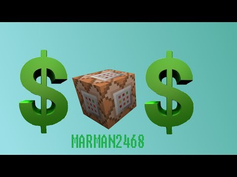 Currency in Minecraft using command blocks!