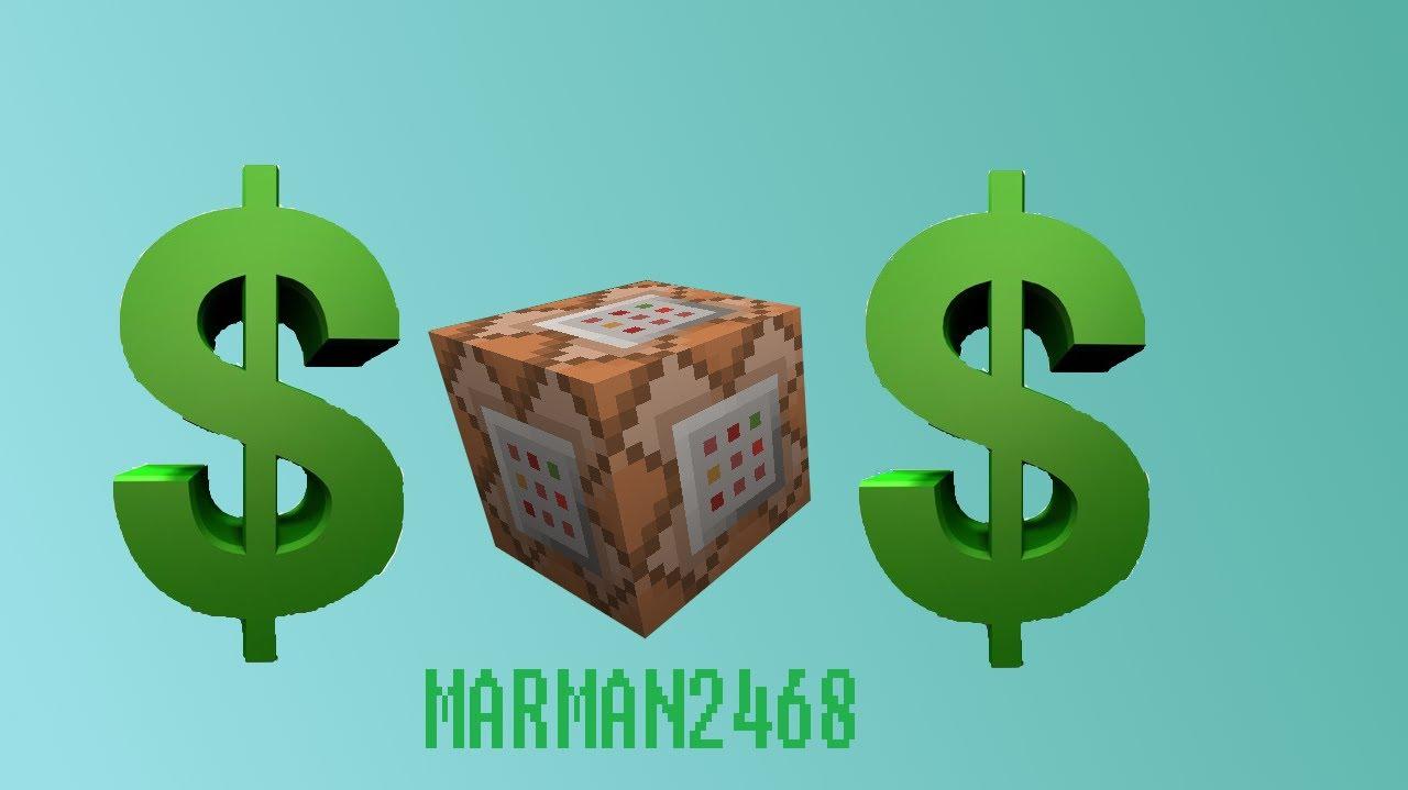 minecraft command block money system
