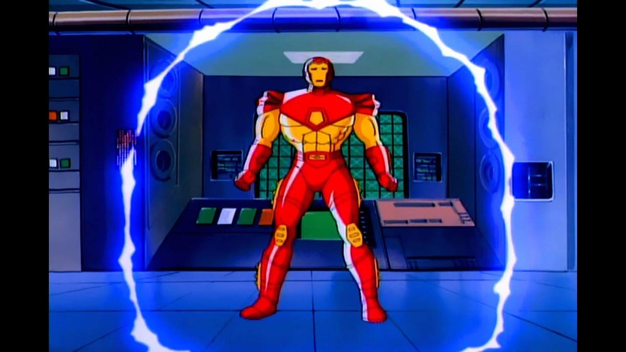 Iron man tas intro 1 1080p hd youtube - Iron man cartoon hd ...