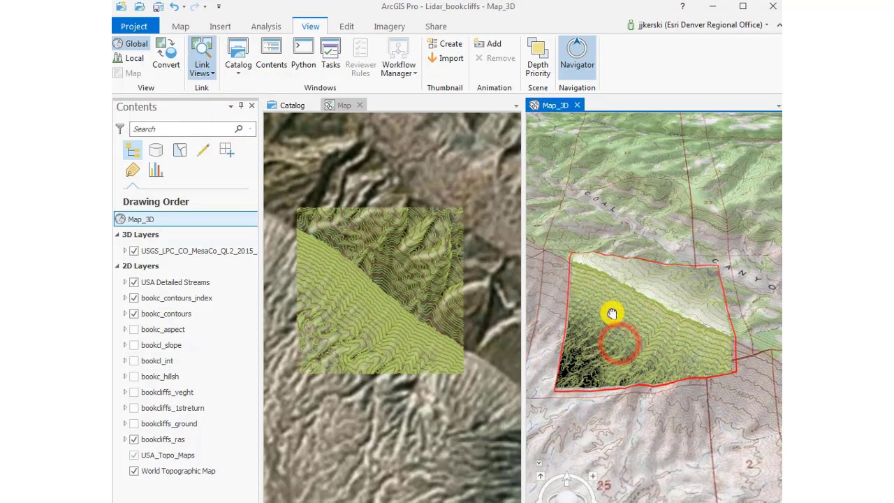 Adding data from ArcGIS Online into an ArcGIS Pro project