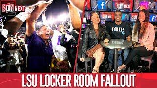 SFY NEXT crew weighs on LSU locker room fallout after coach's fiery speech   SFY NEXT