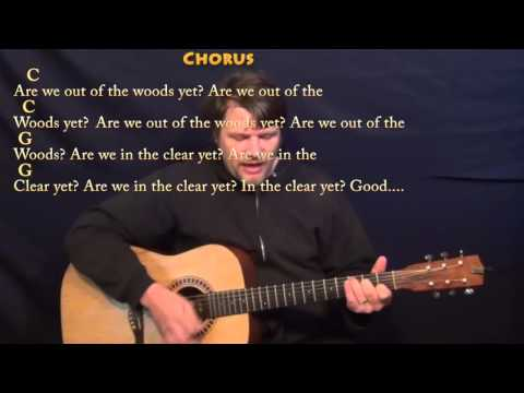Out of The Woods (Taylor Swift) Guitar Cover Lesson with Chords/Lyrics