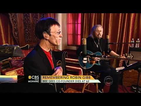 Robin Gibb dead at 62