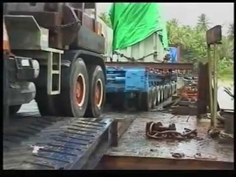 ABB Sengkang Power Station Sulawesi Heavy transport