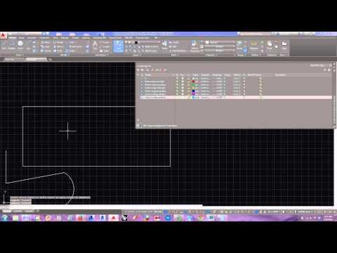 Autocad 2015 Laser Cutting Template FIle