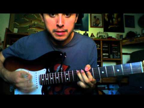John Mayer - Waiting on the World to Change - Guitar Lesson the way John plays it
