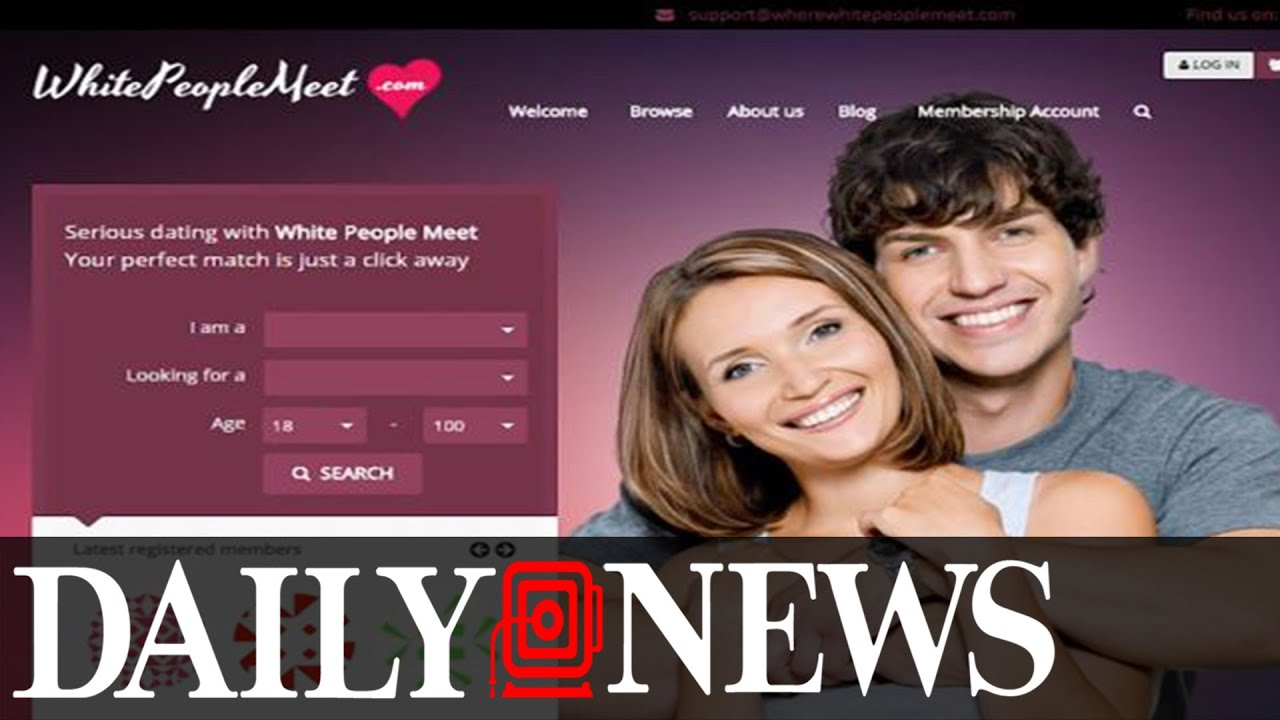 dating sites for white people only