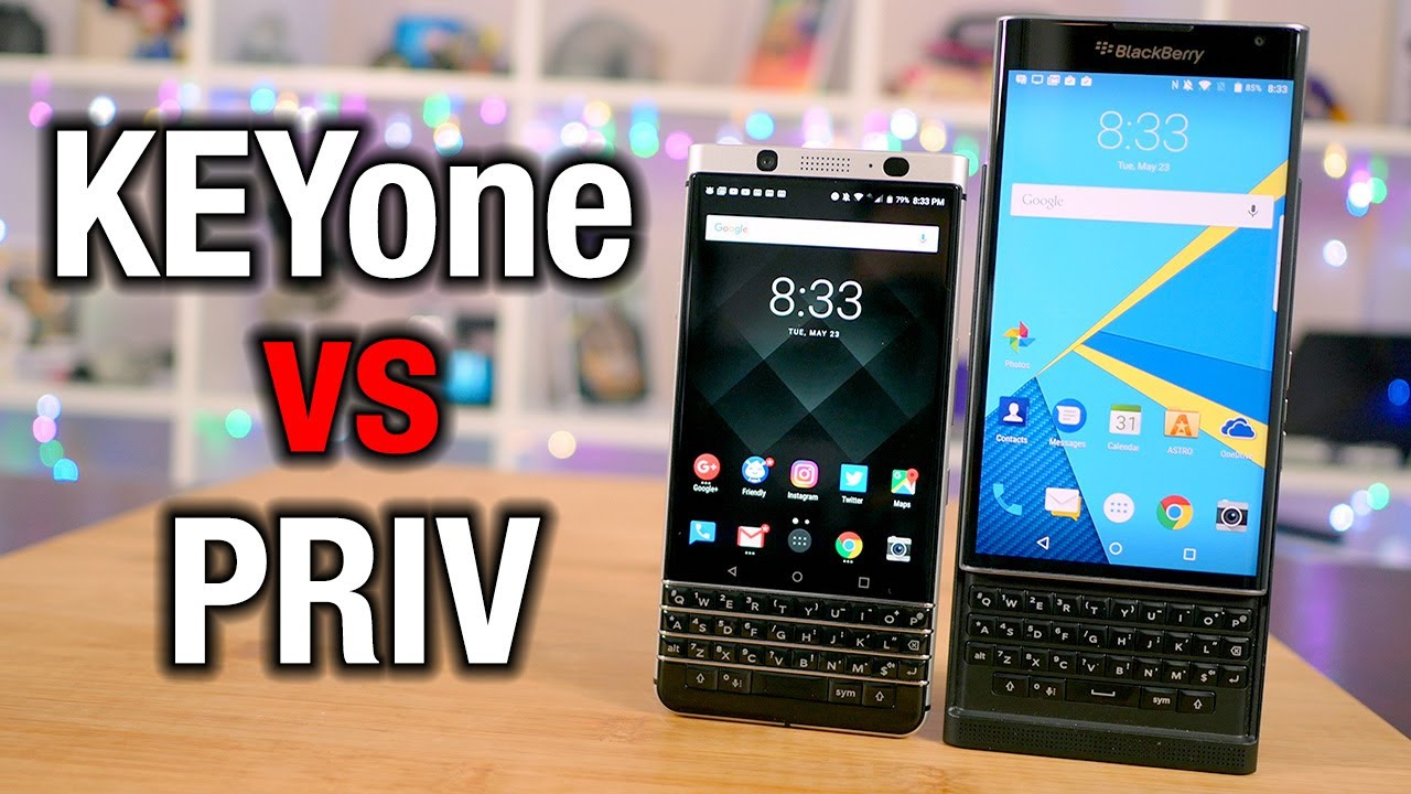 BlackBerry KEYone vs Priv: From RIM to TCL, was this the right move?    Pocketnow