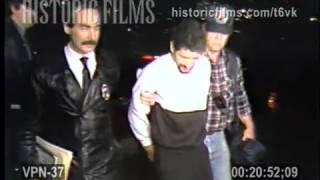 PERP WALK (3 ARRESTED FOR ROBBERIES OF KOREAN DELIS), MANHATTAN - 1987