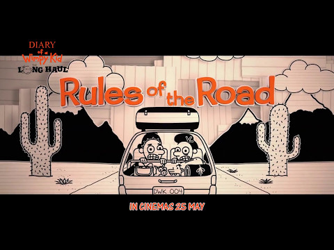 Diary Of A Wimpy Kid: The Long Haul PRESENTS Rules Of The Road