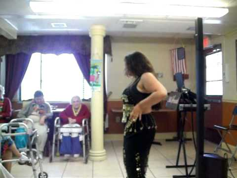 Vale Anoa'i Bellydances on Labor Day 2011