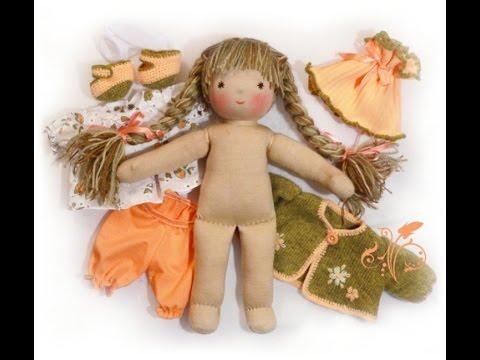Изготовление каркасной куклы своими руками. Мастер 21