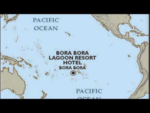 bora bora french polynesia map  YouTube