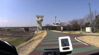 HDR-AS30V vs HDR-AS100V スタビライザー比較 【自転車車載動画】