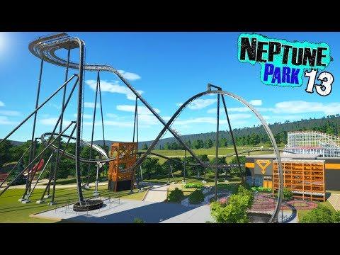 Neptune Park (ep. 13) - THE VERTICAL DROP COASTER! | Planet Coaster