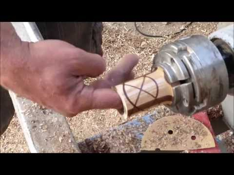 Wood Turning With Naked Turner Celtic Knot Canister