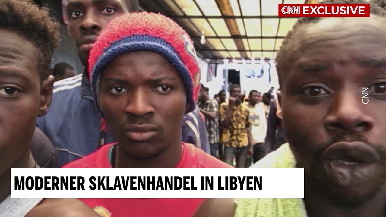 Libyen Sklavenhandel