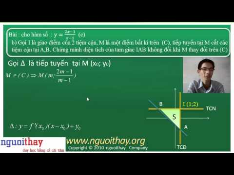 Hàm số : câu b trong đề thi ĐH (phần 1)