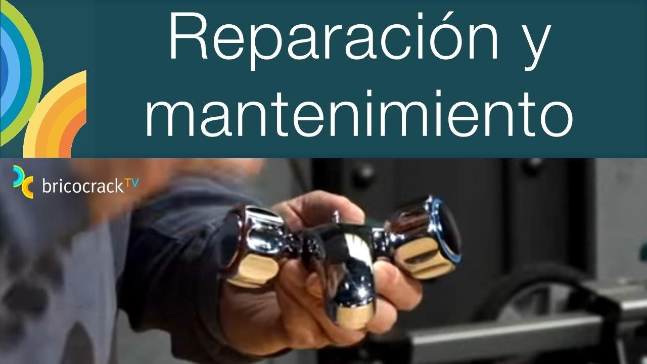 Reparar un grifo de dos mandos (Bricocrack) - YouTube
