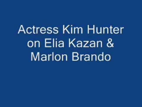 Actress Kim Hunter on Elia Kazan & Marlon Brando