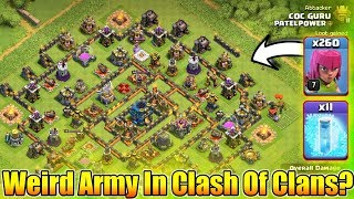 I Accept Your Challenge😎Weirdest Army In Clash Of Clans🤧Only ...
