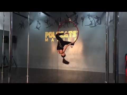 Kyla Ortigas  Aerial Hoop PPS AERIAL TOURNAMENT 2015 Audition